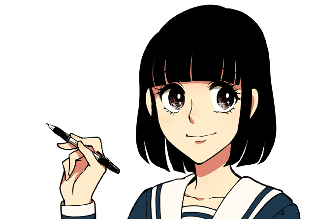 日ペンの美子ちゃんもあなたのペン習字を応援します